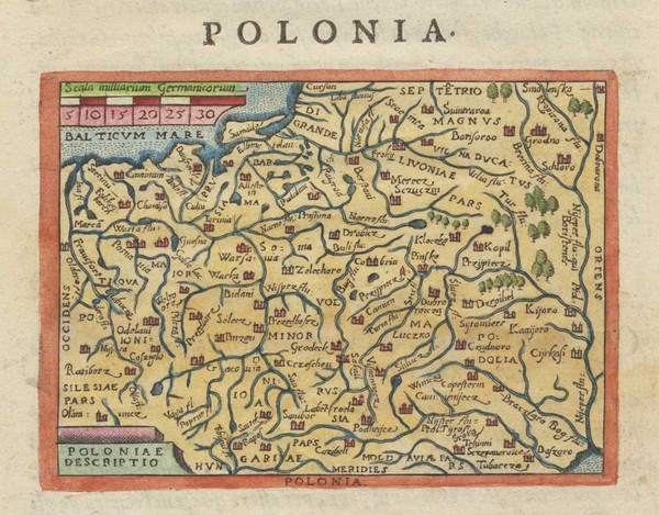 Ortelius Poland Italian pirate