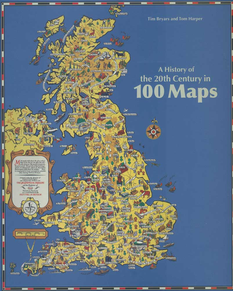 Harper History of the 20th Century in 100 Maps