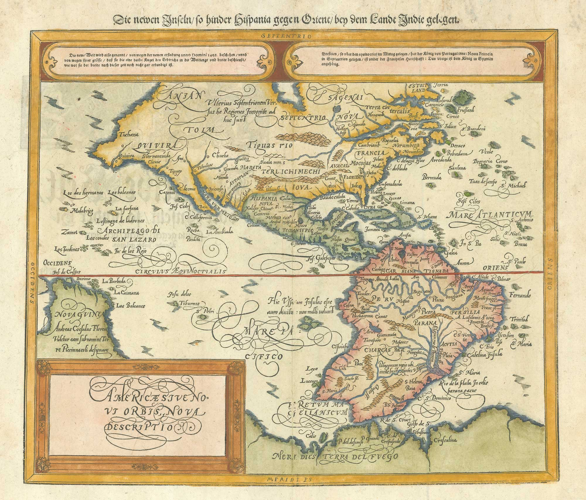 Munster America after Ortelius