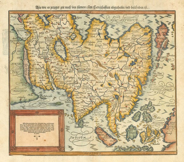 Munster Asia after Ortelius