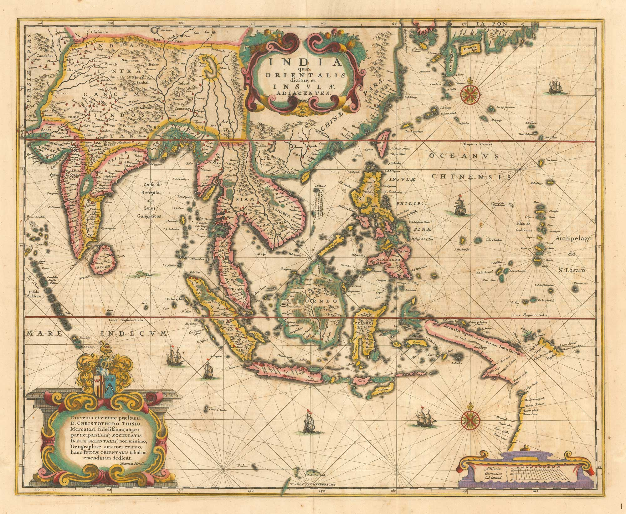 Hondius East Indies
