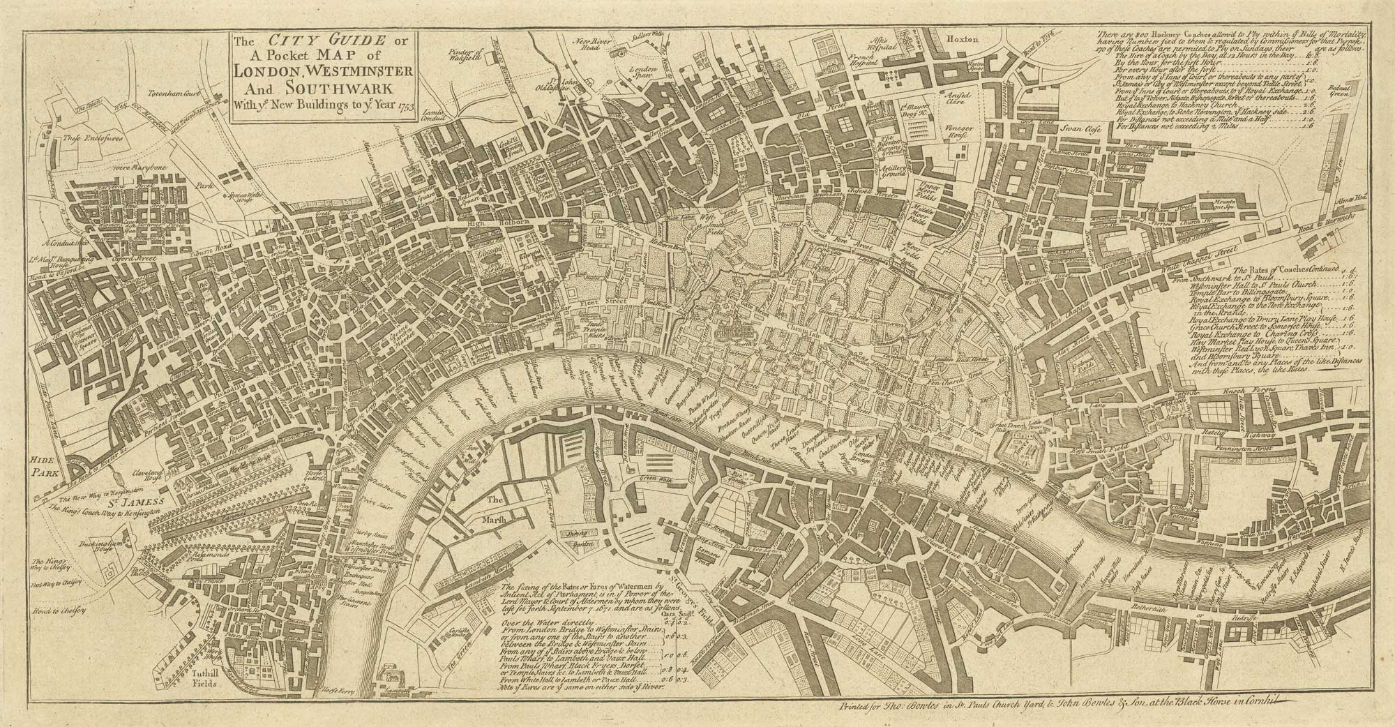 Bowles London 1753