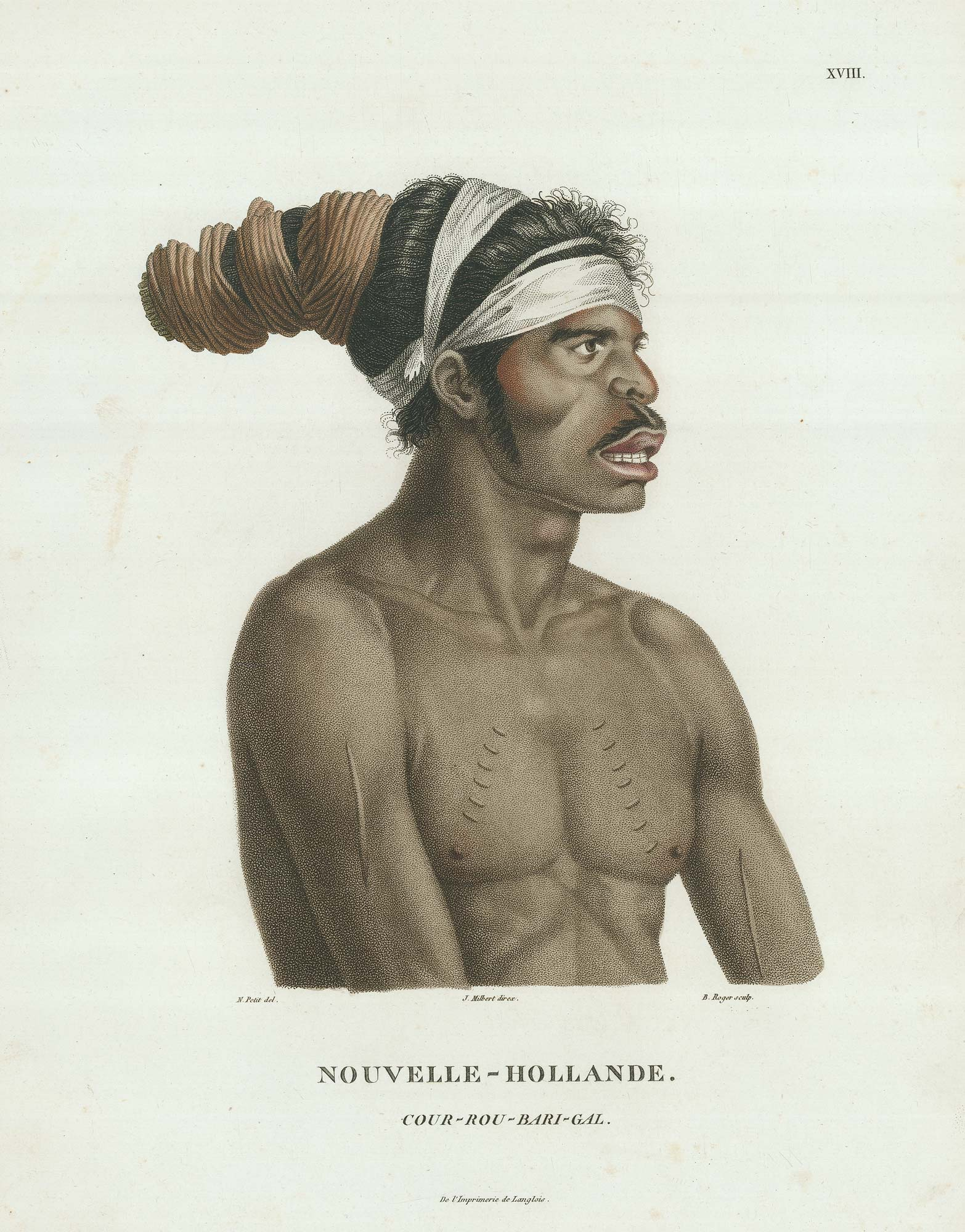 Lesueur Aboriginal Man