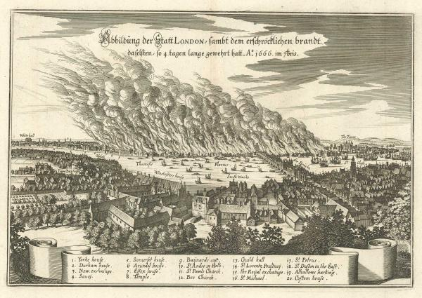 Merian Great Fire of London