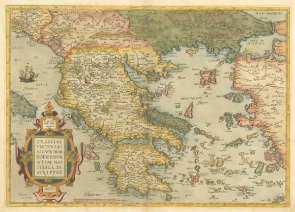 Ortelius Greece