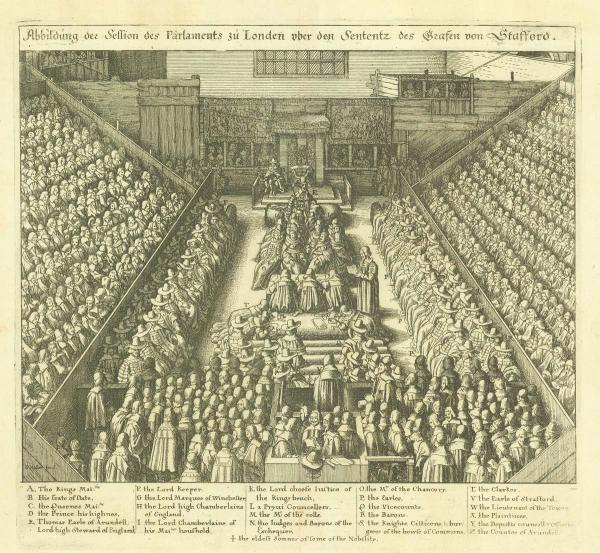Hollar Trial of the Earl of Strafford
