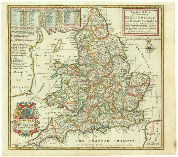 Roads of England and Wales