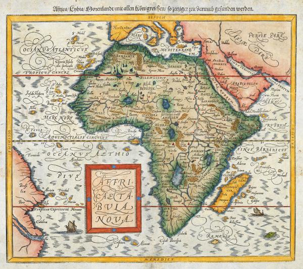 Munster Africa after Ortelius