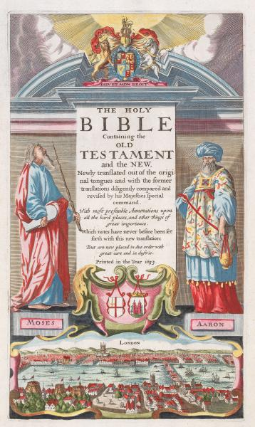 King James Bible titlepage