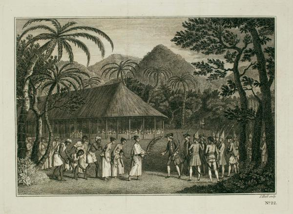 Hawkesworth Tahiti