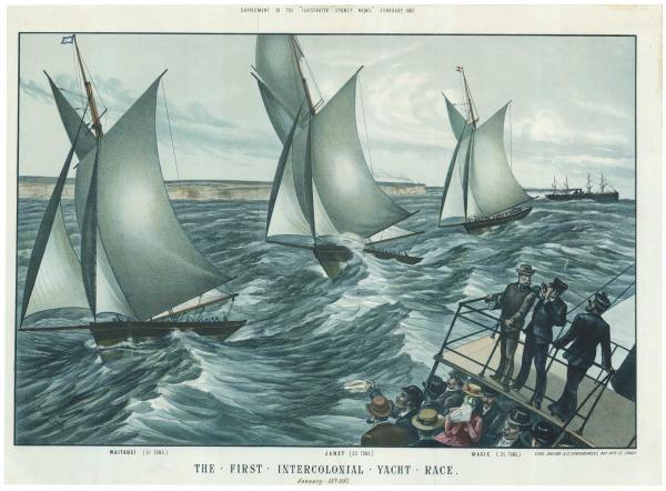 Ficsher Intercolonial Yacht Race